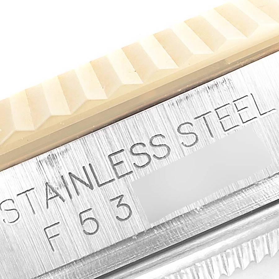 Rolex Datejust 36 Steel Yellow Gold Diamond Mens Watch 116233 Box Papers SwissWatchExpo