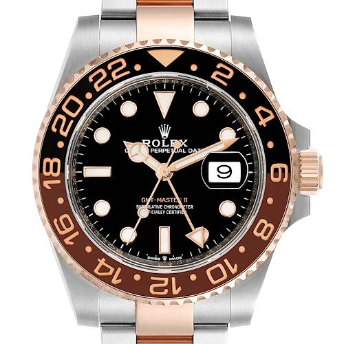 Photo of Rolex GMT Master II Steel Everose Gold Mens Watch 126711 Box Papers