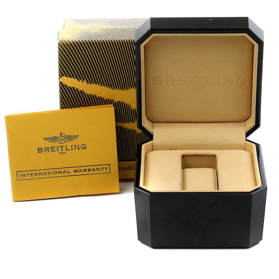 Breitling Bentley GMT Green Strap Limited Edition Watch A47362 Box Papers SwissWatchExpo