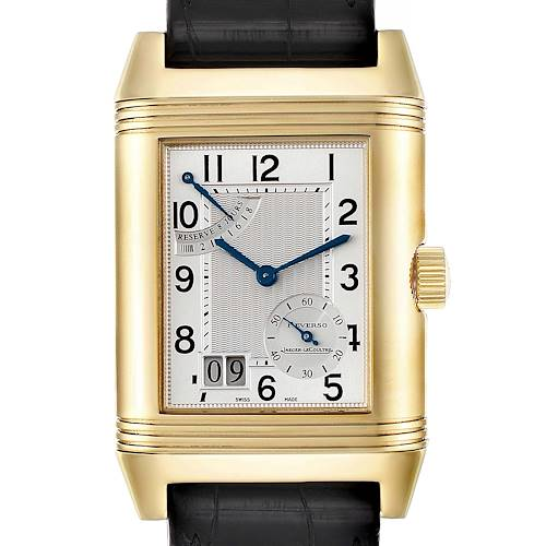 Photo of Jaeger LeCoultre Reverso Grande Date 8 Day Yellow Gold Watch 240.1.15 Q3001420