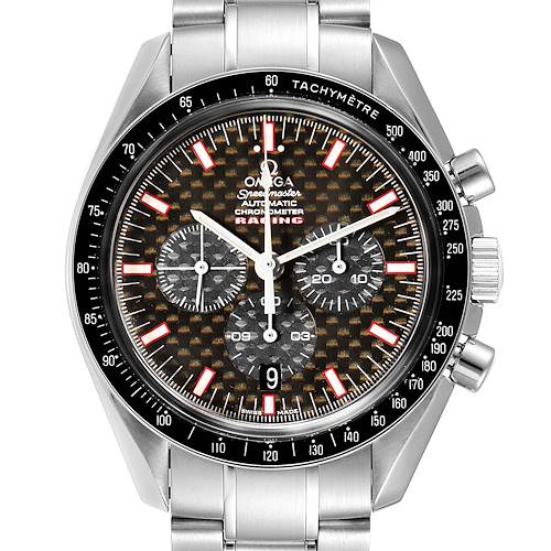 Photo of Omega Speedmaster Professional Racing Steel Mens Watch 3552.59.00 Card