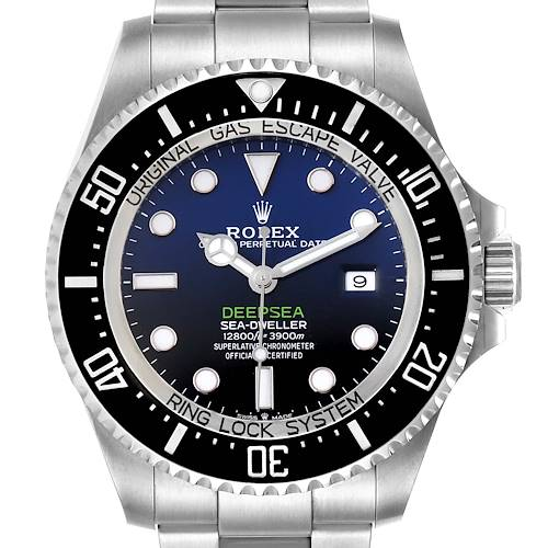 Photo of Rolex Seadweller Deepsea 44 Cameron D-Blue Mens Watch 126660 Box Card Unworn