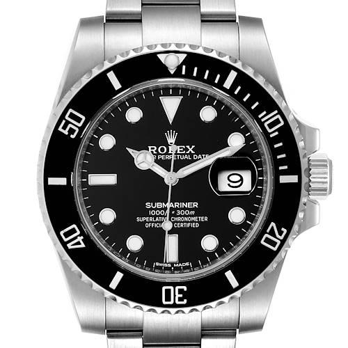 Photo of Rolex Submariner Ceramic Bezel Steel Mens Watch 116610 Box Card Unworn