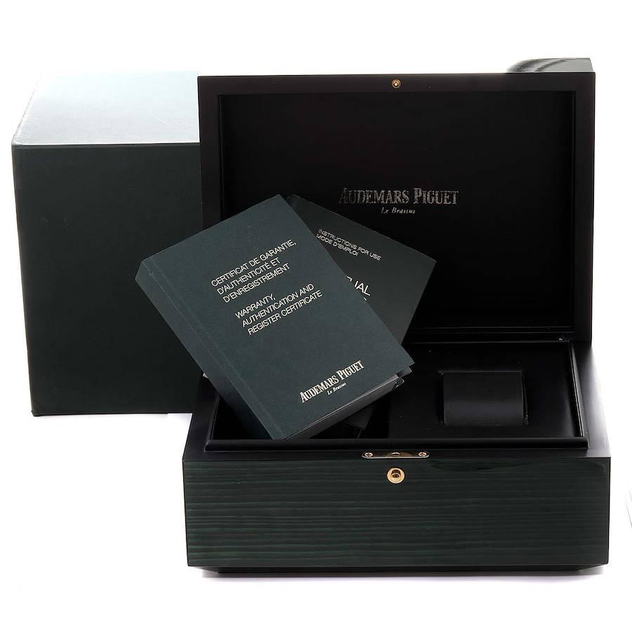 Audemars Piguet Royal Oak Perpetual Calendar Mens Watch 26574ST Box Papers SwissWatchExpo