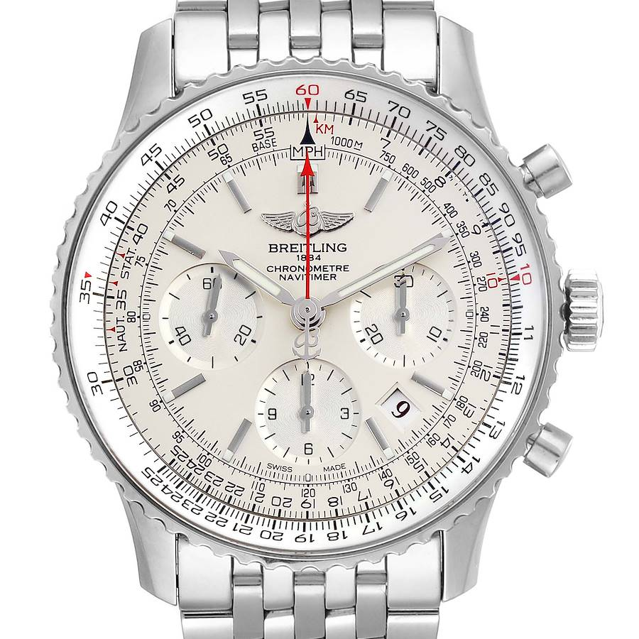 Breitling Navitimer 01 Limited Edition Mens Watch AB0123 Box Papers SwissWatchExpo