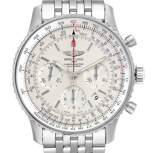 Photo of Breitling Navitimer 01 Limited Edition Mens Watch AB0123 Box Papers