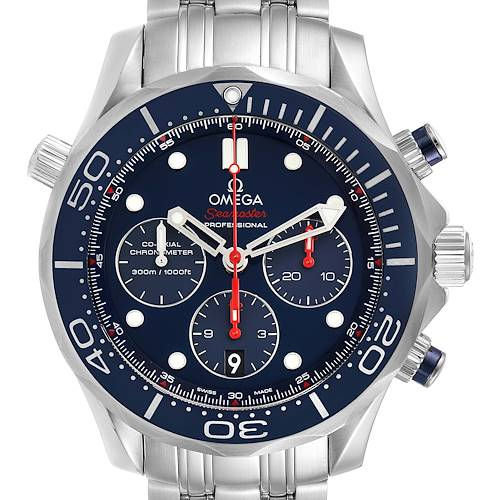 Photo of Omega Seamaster Diver 300M Chronograph 44mm Watch 212.30.44.50.03.001