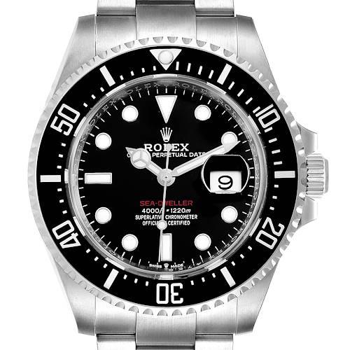 Photo of Rolex Seadweller 43mm 50th Anniversary Steel Mens Watch 126600 Unworn