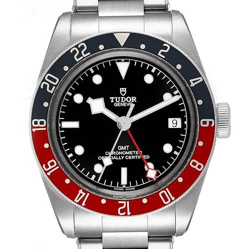 Photo of Tudor Heritage Black Bay GMT Pepsi Bezel Mens Watch 79830RB Box