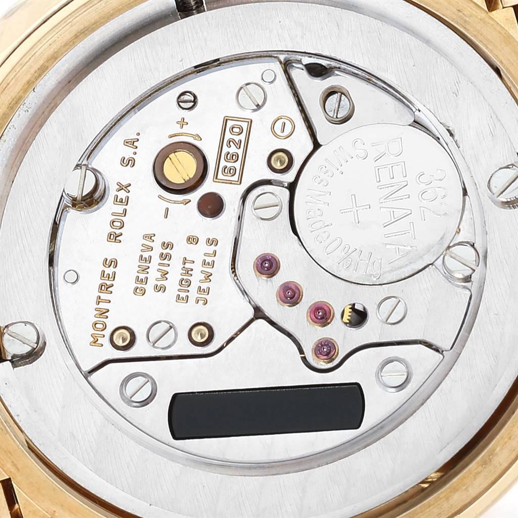 Rolex Cellini 33mm 18k Yellow Gold Ladies Watch 6622 SwissWatchExpo