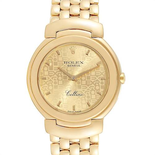 Photo of Rolex Cellini 33mm 18k Yellow Gold Ladies Watch 6622
