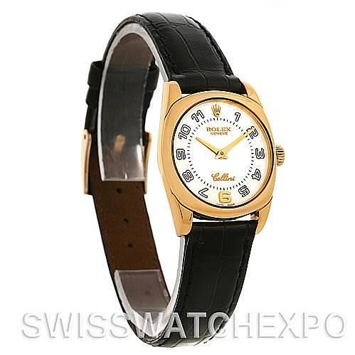 Rolex Cellini Danaos Ladies 18k Yellow Gold 6229 SwissWatchExpo