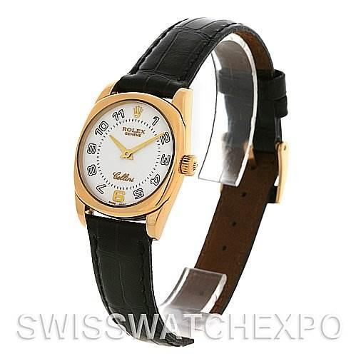 2601 Rolex Cellini Danaos Ladies 18k Yellow Gold 6229 SwissWatchExpo