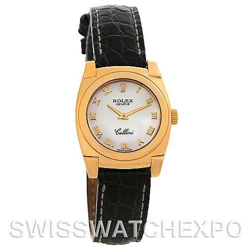 2682 Rolex Cellini Cestello Ladies 18k Yellow Gold Watch 5310 SwissWatchExpo