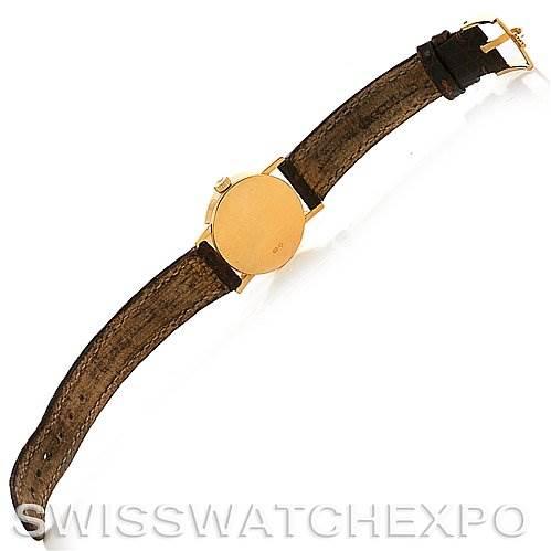 2690 Rolex Cellini Classic Ladies 18k Yellow Gold Watch 6110 SwissWatchExpo