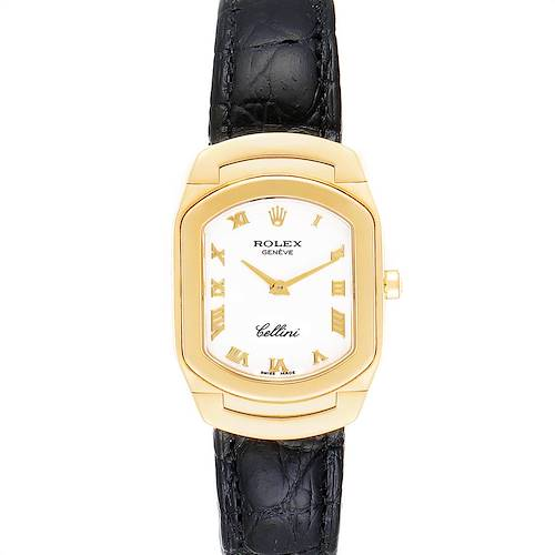 Photo of Rolex Cellini Cellissima Yellow Gold White Dial Ladies Watch 6631