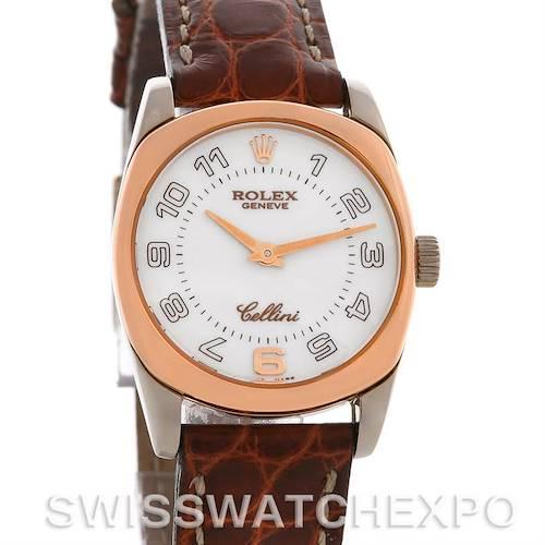 Photo of Rolex Cellini Danaos Ladies 18k White & Rose Gold 6229
