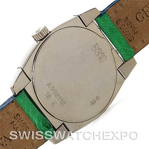 2904 Rolex Cellini Cestello Ladies 18k White Gold 5310 NOS SwissWatchExpo