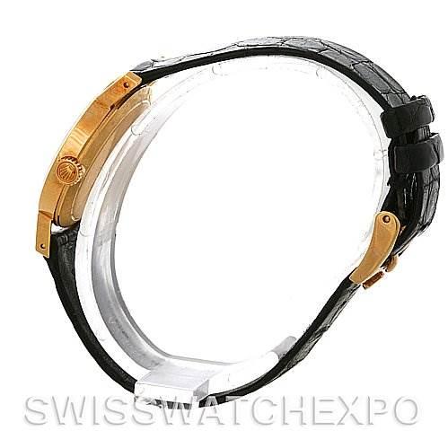 4069 Rolex Cellini Ladies 18k Yellow Gold White Roman Dial Watch 4109 SwissWatchExpo