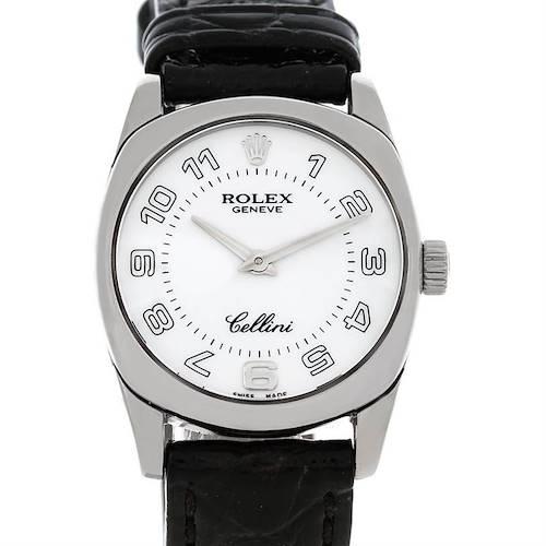 Photo of Rolex Cellini Danaos Ladies 18K White Gold 6229