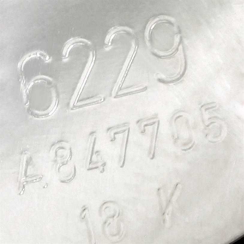Rolex Cellini Danaos Ladies 18K White Rose Gold Watch 6229 SwissWatchExpo