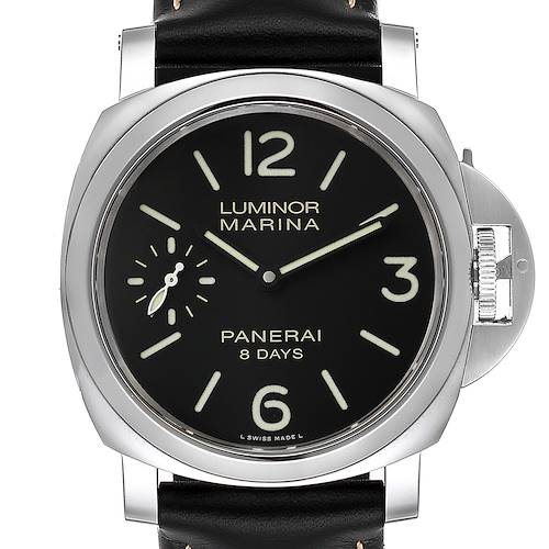 Photo of Panerai Luminor Marina 8 Days 44mm Mens Watch PAM00510 Box Papers