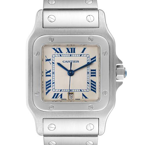 Photo of Cartier Santos Galbee 29mm Stainless Steel Mens Watch W20060D6