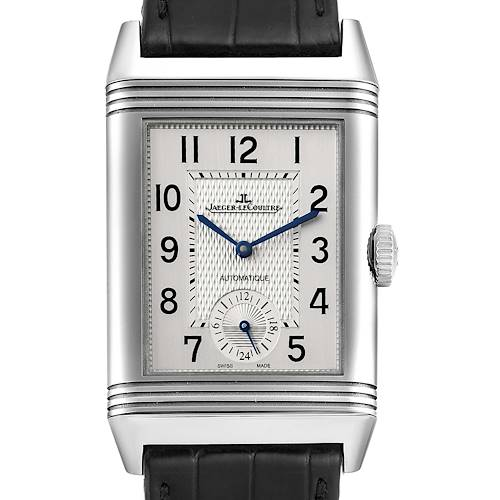 Photo of Jaeger LeCoultre Reverso Duo Day Night Steel Mens Watch 215.8.S9 Q3838420