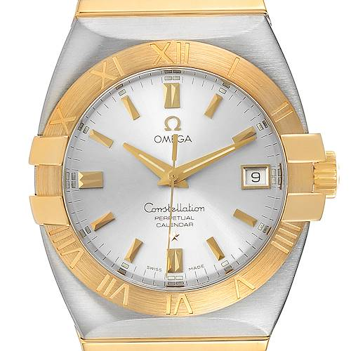 Photo of Omega Constellation Double Eagle Steel Yellow Gold Mens Watch 1213.30.00