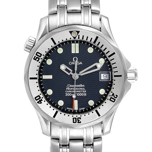 Photo of Omega Seamaster Midsize 36 Blue Dial Steel Mens Watch 2552.80.00