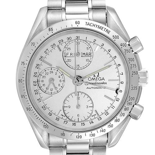 Photo of Omega Speedmaster Day Date Chronograph Mens Watch 3521.30.00