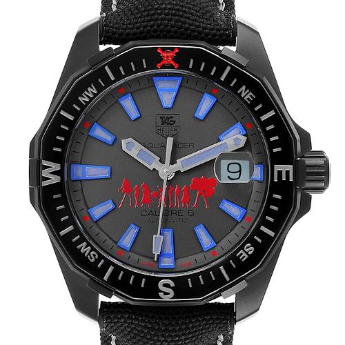 Photo of Tag Heuer Aquaracer Calibre 5 One Piece Special Edition Watch WAY218C Card