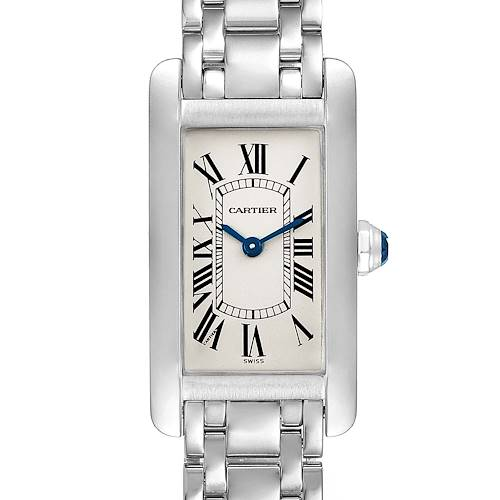 Photo of Cartier Tank Americaine 18K White Gold Ladies Watch W26015K2