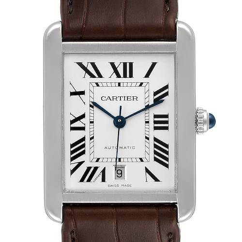 Photo of Cartier Tank Solo XL Automatic Steel Mens Watch W5200027