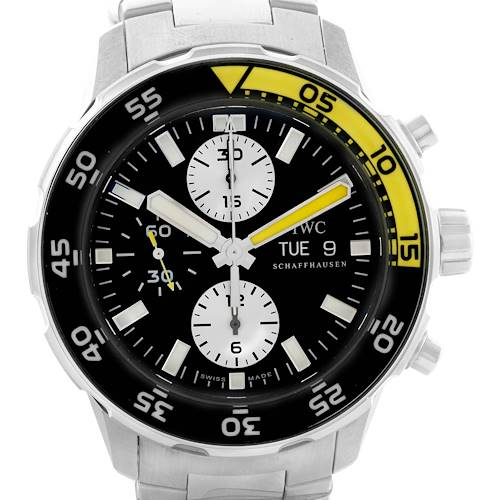 Photo of IWC Aquatimer Automatic Chronograph Day Date Mens Watch IW376701