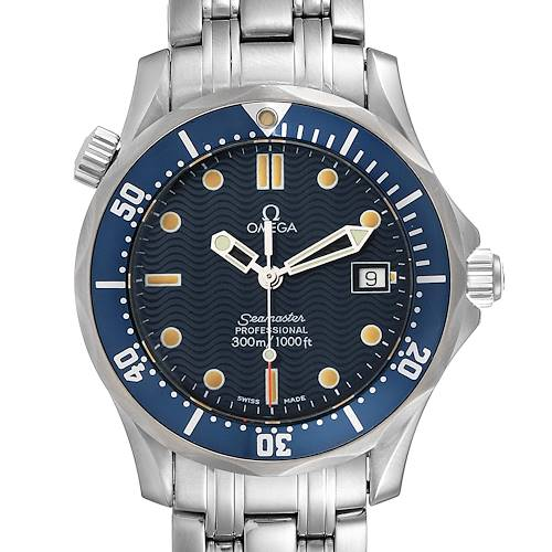 Photo of Omega Seamaster Bond 36 Midsize Blue Dial Watch 2561.80.00