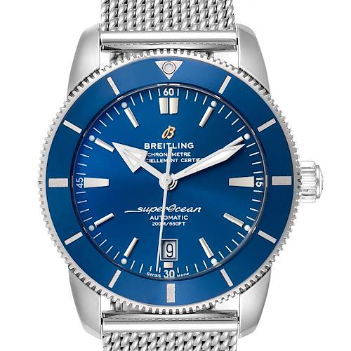 Photo of Breitling Superocean Heritage 46 Blue Dial Mens Watch AB2020 Box Papers