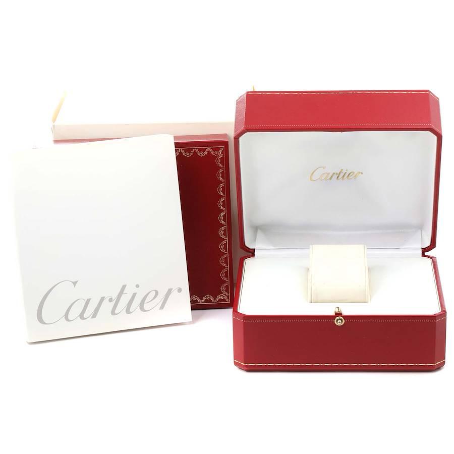 Cartier Tank Francaise Steel Yellow Gold Large Unisex Watch W51005Q4 Box SwissWatchExpo