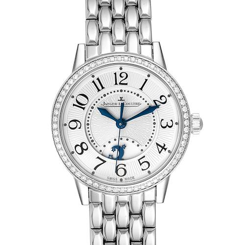 Photo of Jaeger Lecoultre Rendez-Vous Diamond Ladies Watch 346.8.56.S Q3448120 Box Papers