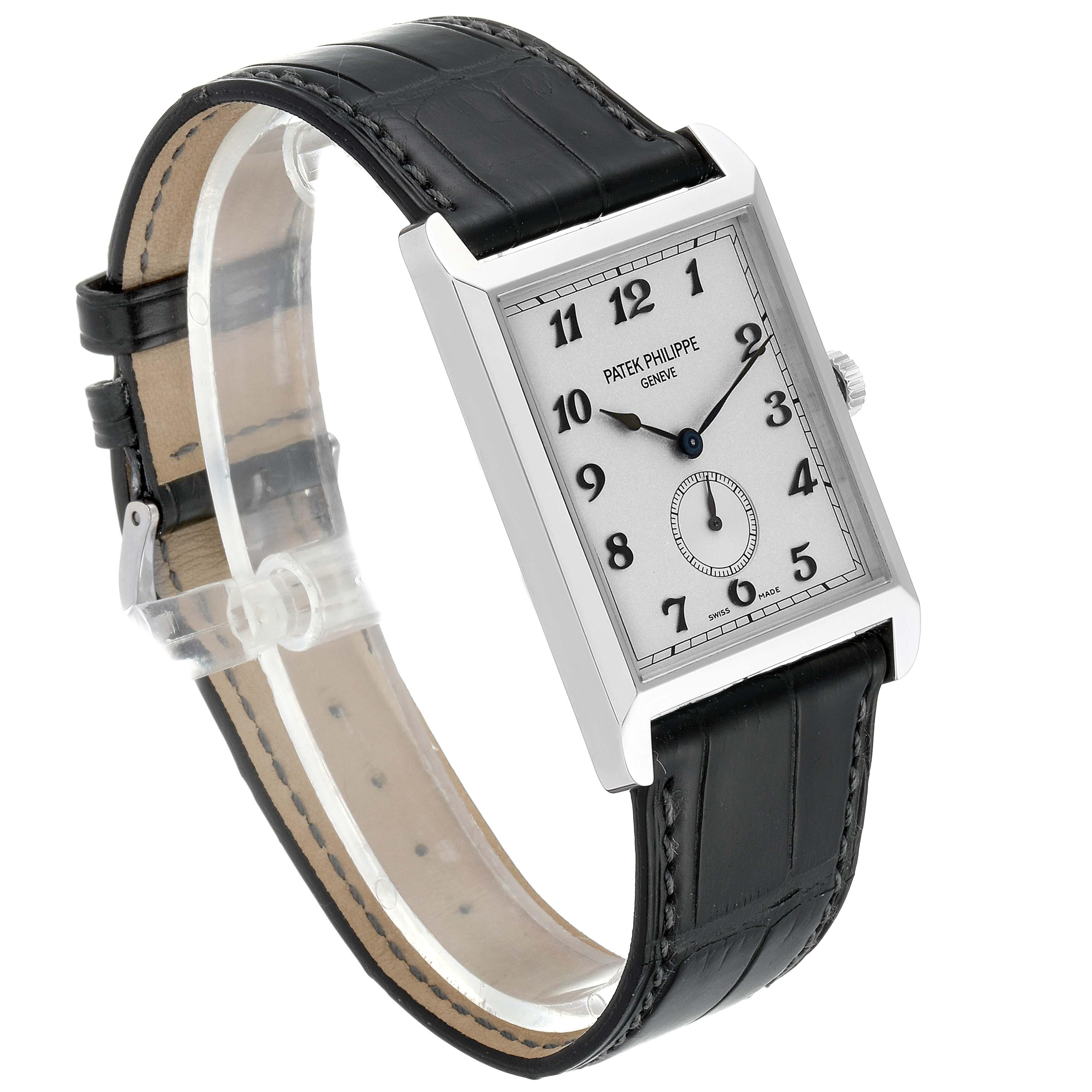 Patek Philippe Gondolo White Gold Silver Dial Mens Watch 5109 SwissWatchExpo