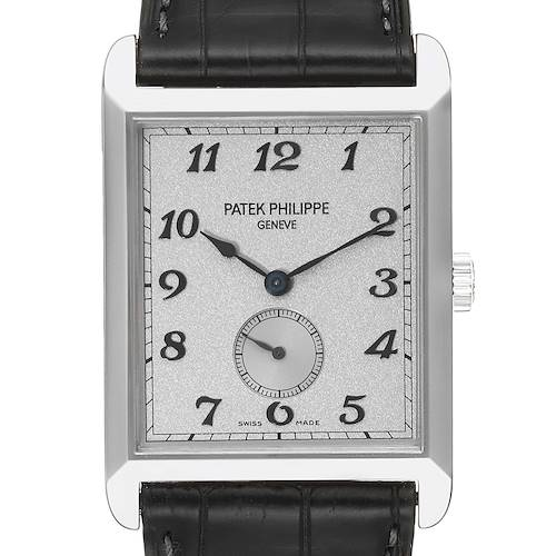 Photo of Patek Philippe Gondolo White Gold Silver Dial Mens Watch 5109