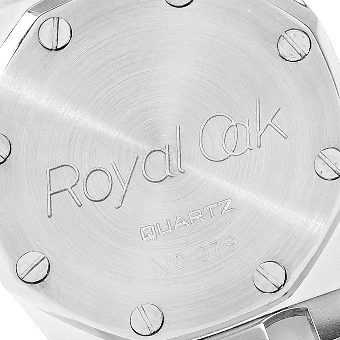 Audemars Piguet Royal Oak 26mm Diamond Steel Yellow Gold Ladies Watch SwissWatchExpo