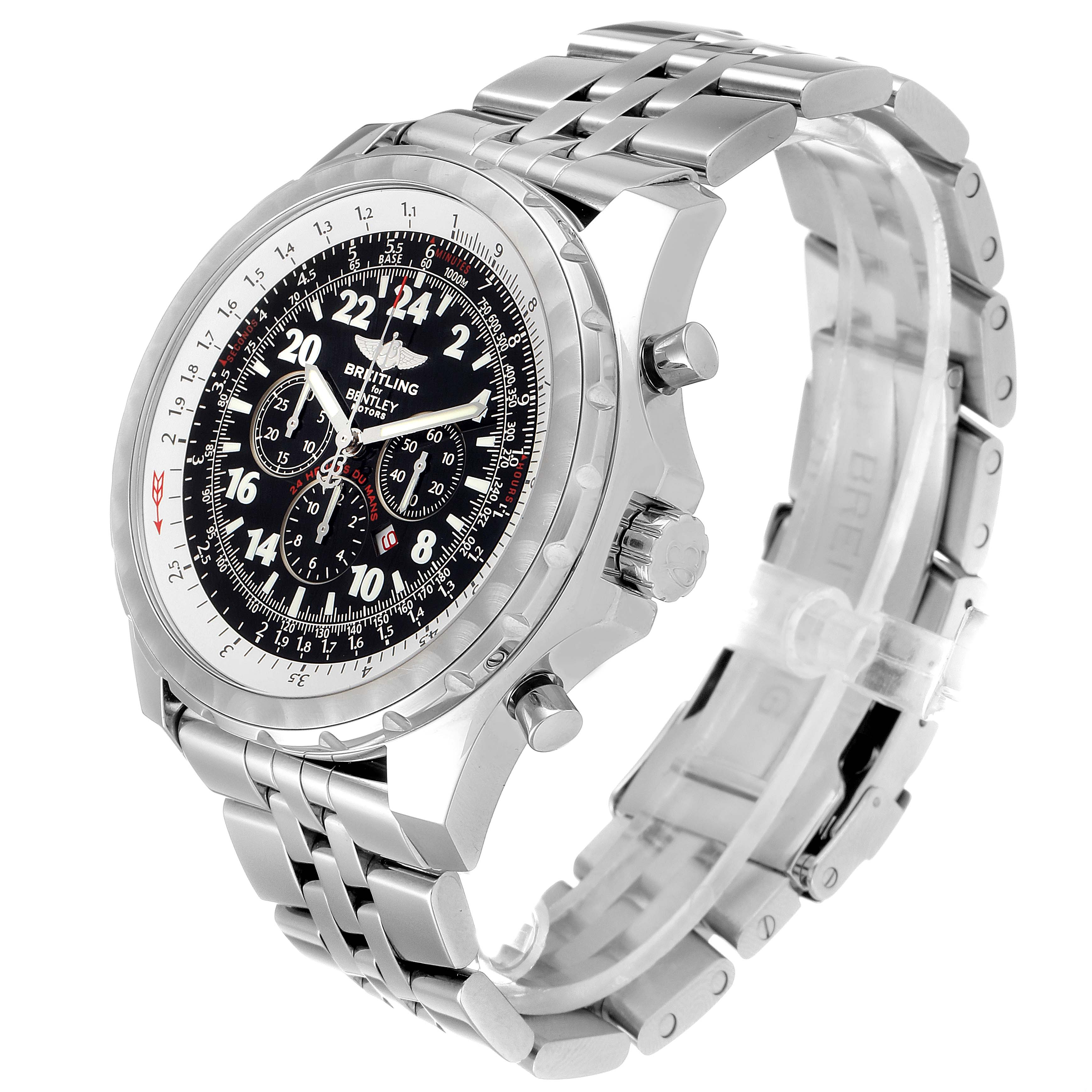 Breitling Bentley Lemans Chronograph Limited Edition Mens Watch A22362 SwissWatchExpo