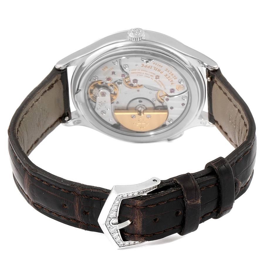 Patek Philippe World Time Complications White Gold Diamond Watch 7130 SwissWatchExpo