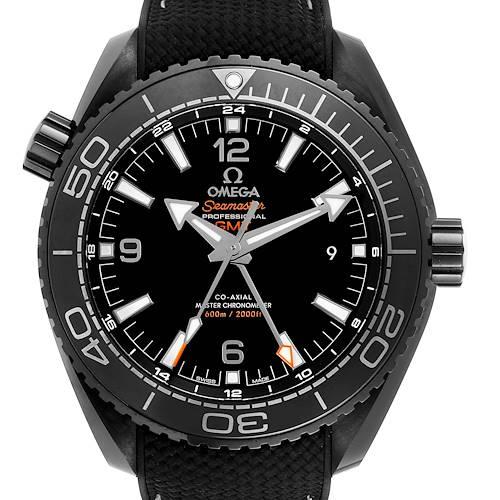 Photo of Omega Planet Ocean Deep Black Ceramic GMT Watch 215.92.46.22.01.001