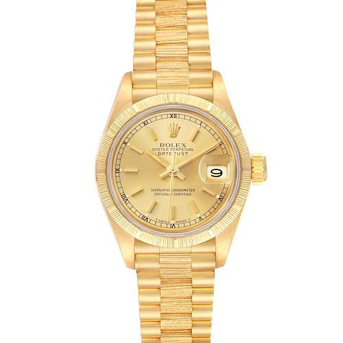 Photo of Rolex President Datejust 18K Yellow Gold Ladies Watch 69278