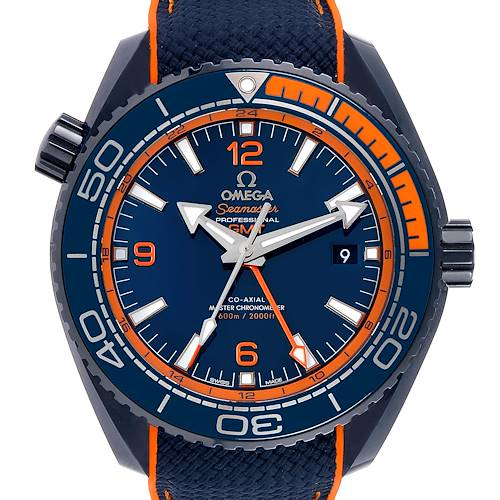 Photo of Omega Planet Ocean Big Blue GMT 45.5 mm Watch 215.92.46.22.03.001