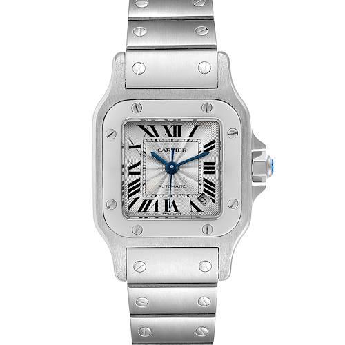 Photo of Cartier Santos Galbee Ladies Automatic Steel Ladies Watch W20044D6 Papers