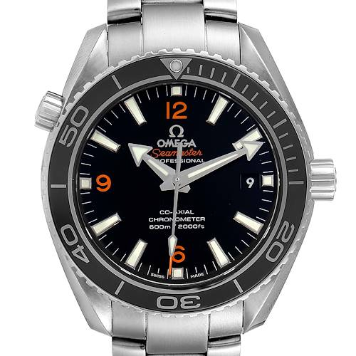 Photo of Omega Seamaster Planet Ocean Midsize Unisex Watch 232.30.38.20.01.002 Box Papers