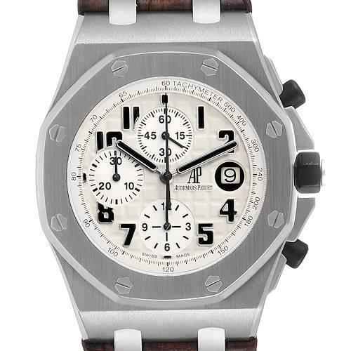 Photo of Audemars Piguet Royal Oak Offshore Safari Chronograph Mens Watch 26170ST